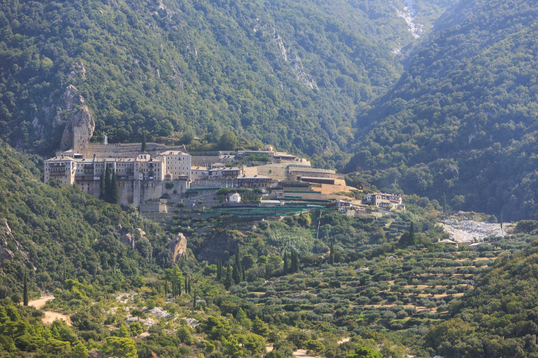The Holy Monastery of Agios Pavlos (St Paul), Mount Athos