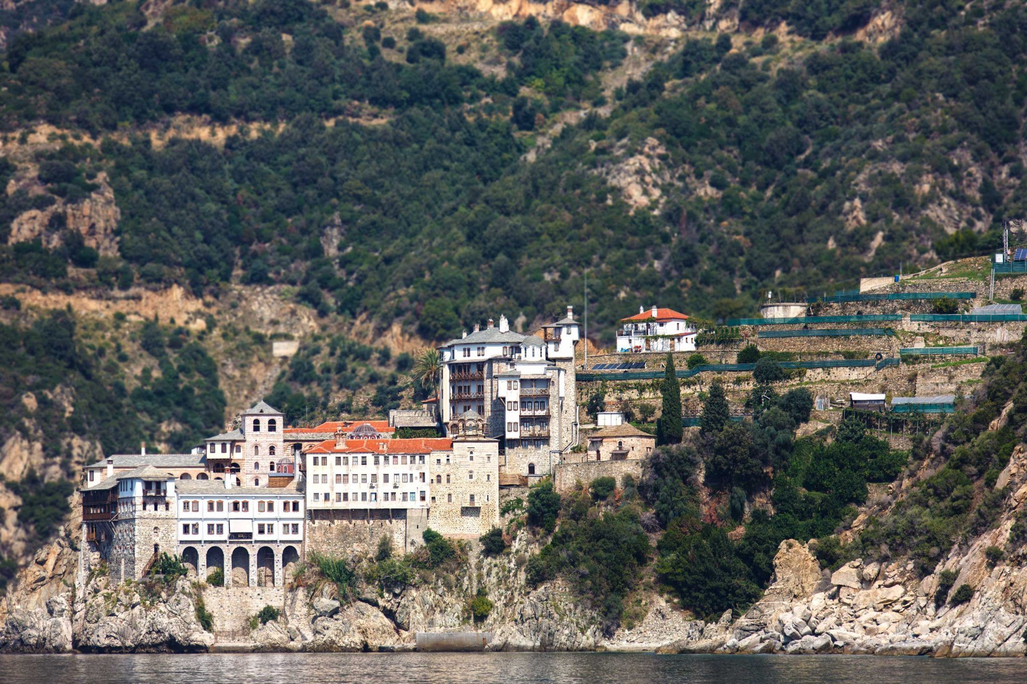 The Holy Monastery of Grigoriou, Mount Athos