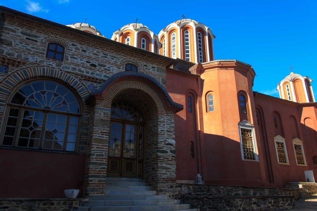 The Holy Monastery of Pantokrator - the katholikon