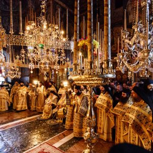 Hierotheos of Nafpaktos and Athanasios of Limassol at feast of St. Evdokimos - Photo journal from the Liturgy (part 2)