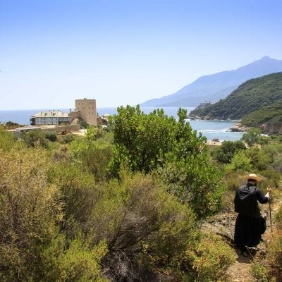 Orthodoxy is the true path - Photo Journal (the footpath to the Pantokrator Monastery) (Audio)