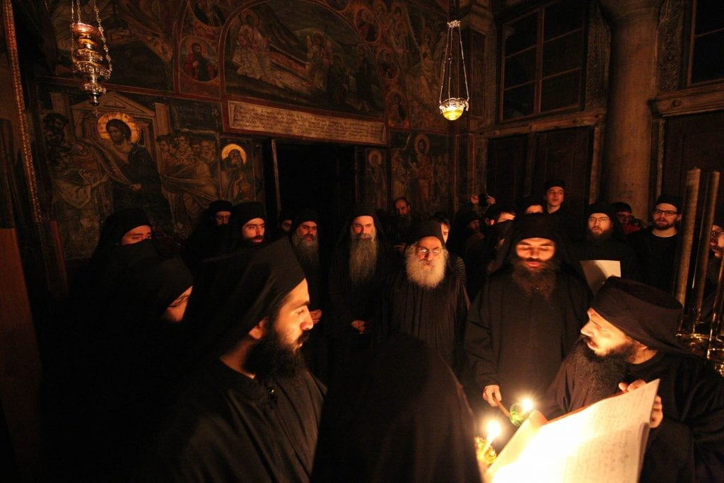 Christ on Earth - Ascetic Experience - Vatopedi, Vatopaidi Monastery Holy Mountain (Athos)