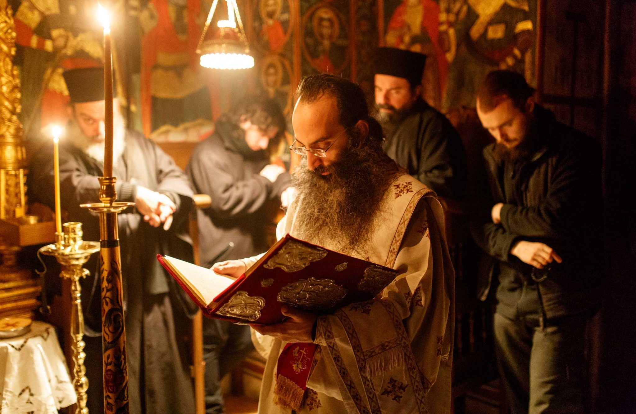 learn through pain - Ascetic Experience, Vatopaidi (Vatopedi), Mount Athos, Holy Mountain