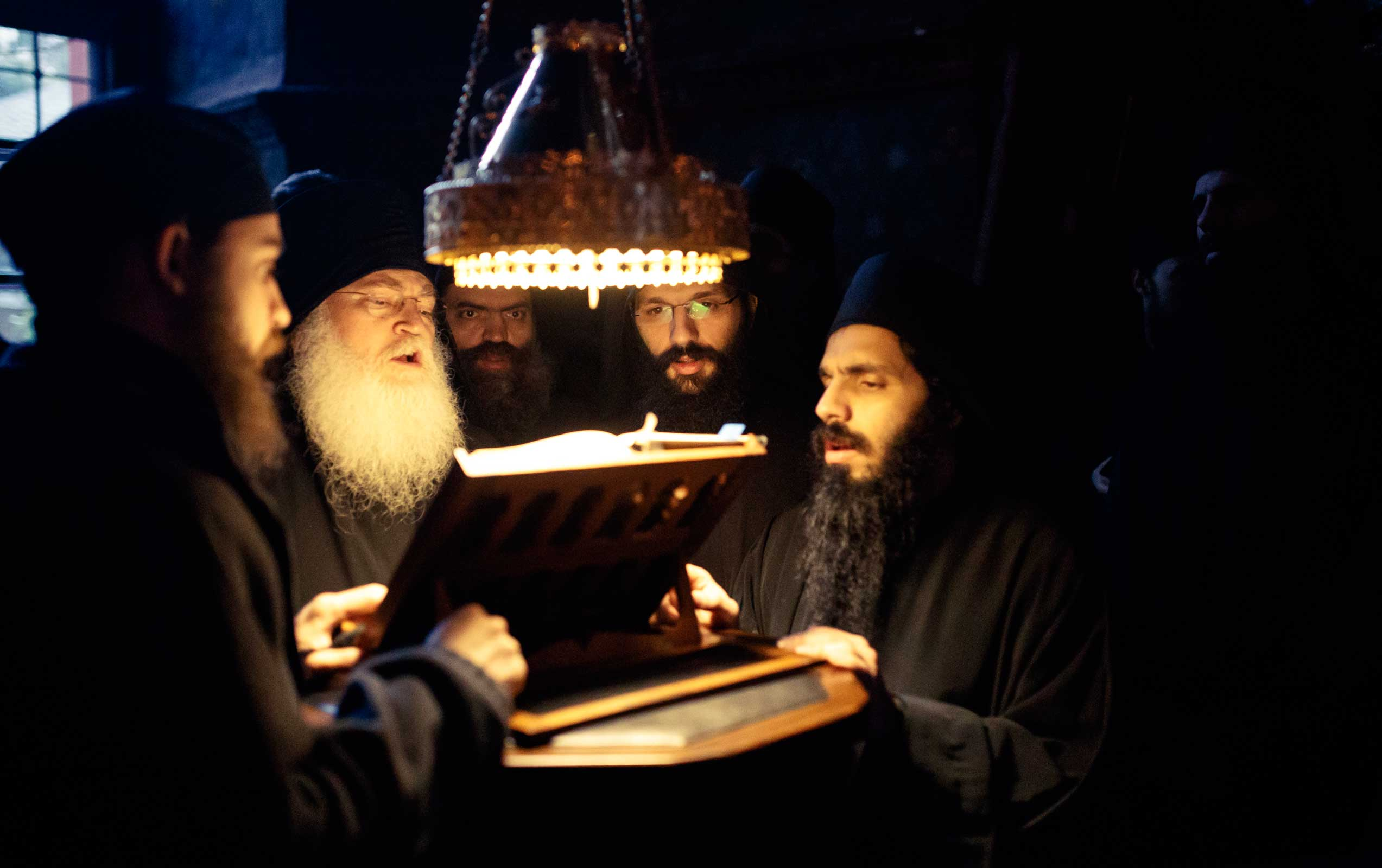 voice - Ascetic Experience, Vatopaidi (Vatopedi), Mount Athos, Holy Mountain