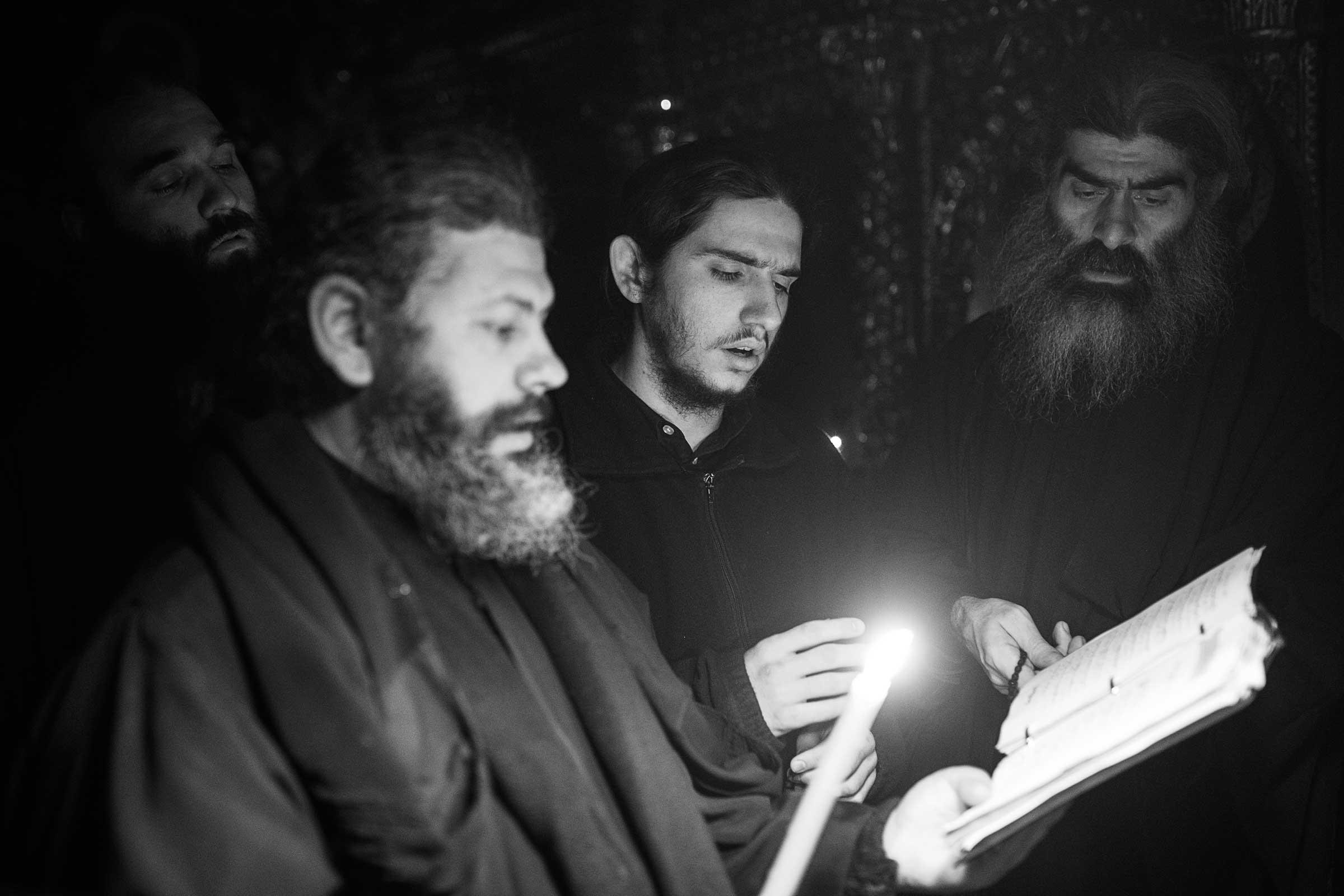 Arsenie Boca prayer - Ascetic Experience, Vatopaidi (Vatopedi), Mount Athos, Holy Mountain