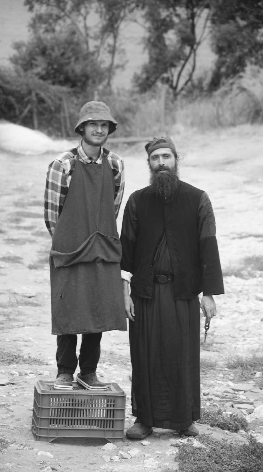 equal different - Ascetic Experience, Vatopaidi (Vatopedi), Mount Athos, Holy Mountain
