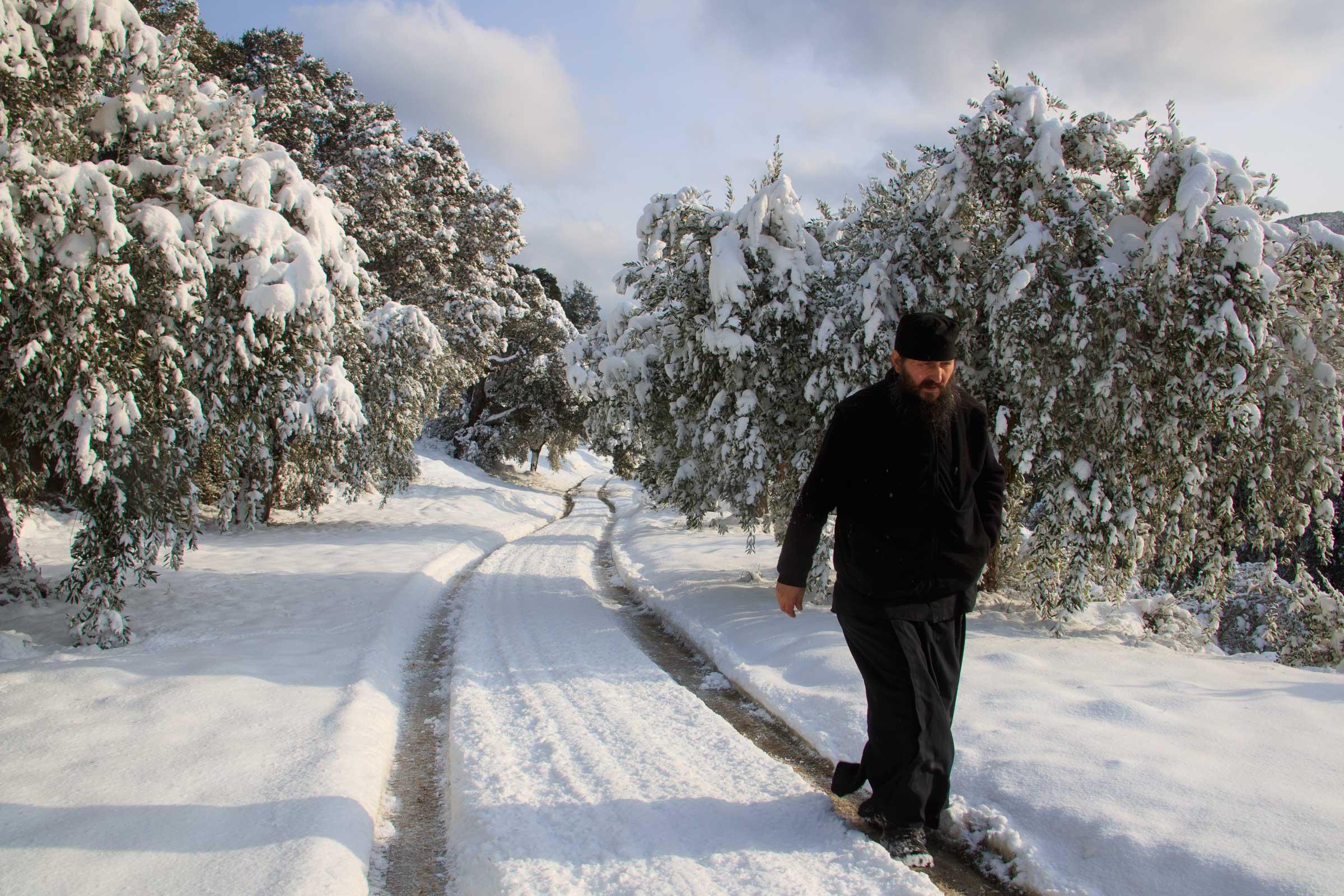 simplify life - Ascetic Experience, Vatopaidi (Vatopedi), Mount Athos, Holy Mountain