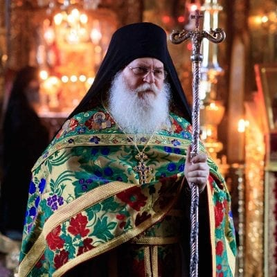 The man of sorrows - Photo journal from the name day of the Abbot Ephraim - part 2: The Liturgy