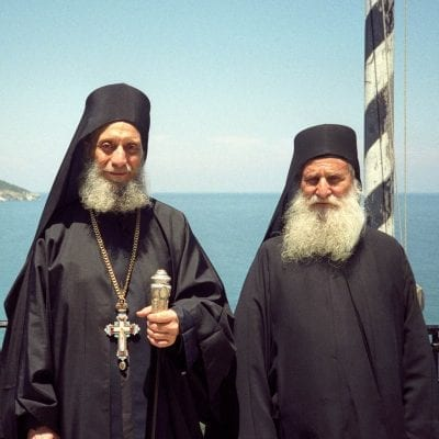 Elder Aimilianos of Simonopetra: The sinners are in the Church also