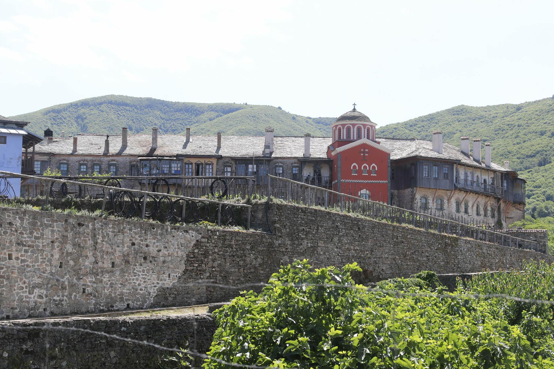The Holy Monastery of Philotheou, Mount Athos