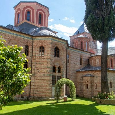 The Holy Monastery of Philotheou, Mount Athos - Small Photo Report