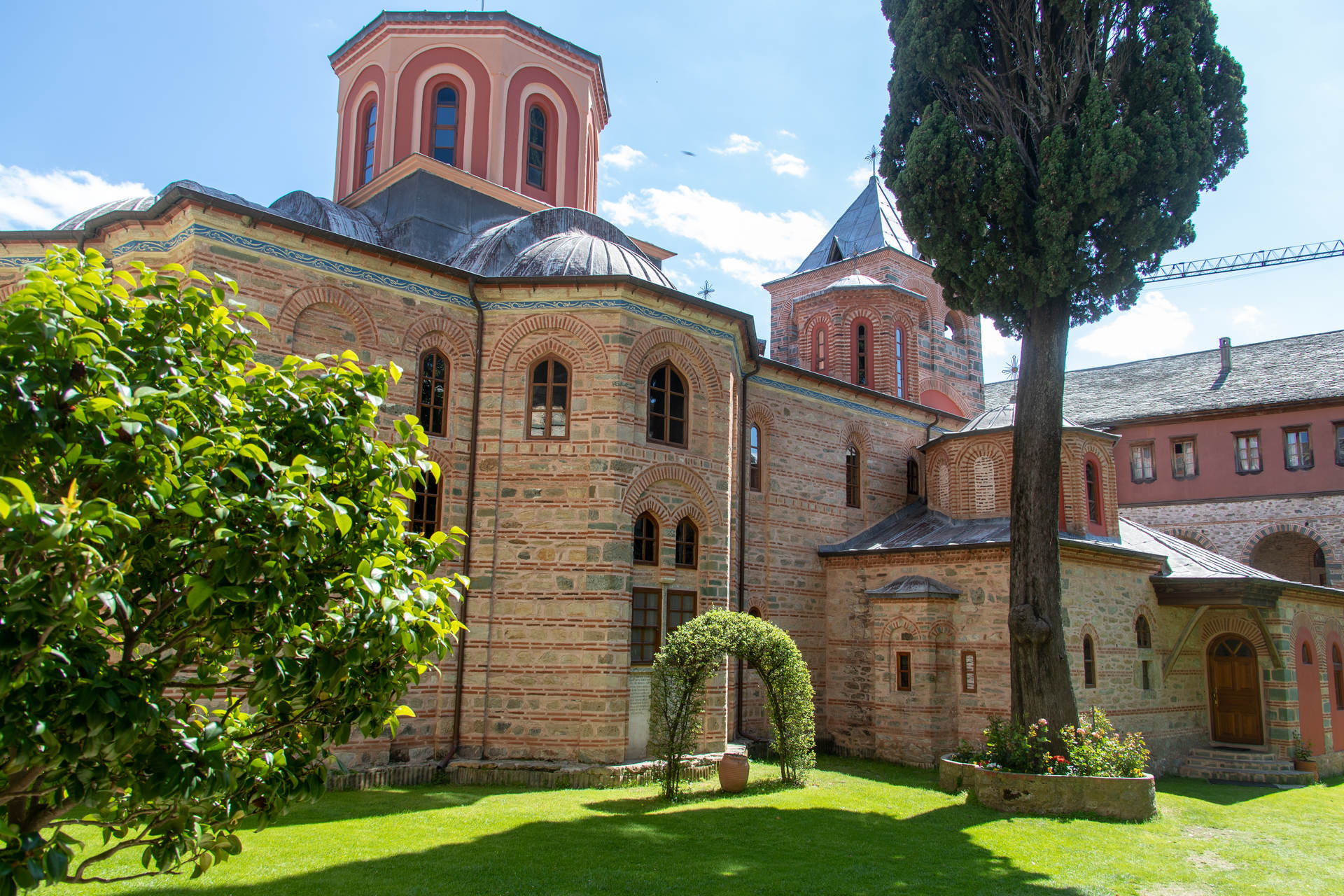 The Holy Monastery of Philotheou - Small Photo Report