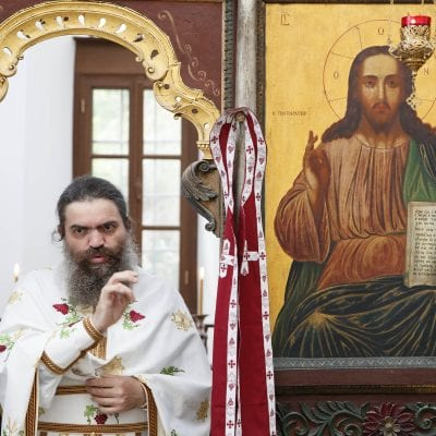 A sign of Christ's delicacy in an icon: Jesus wept - Photo Journal from the Chapel of Saint Nicholas