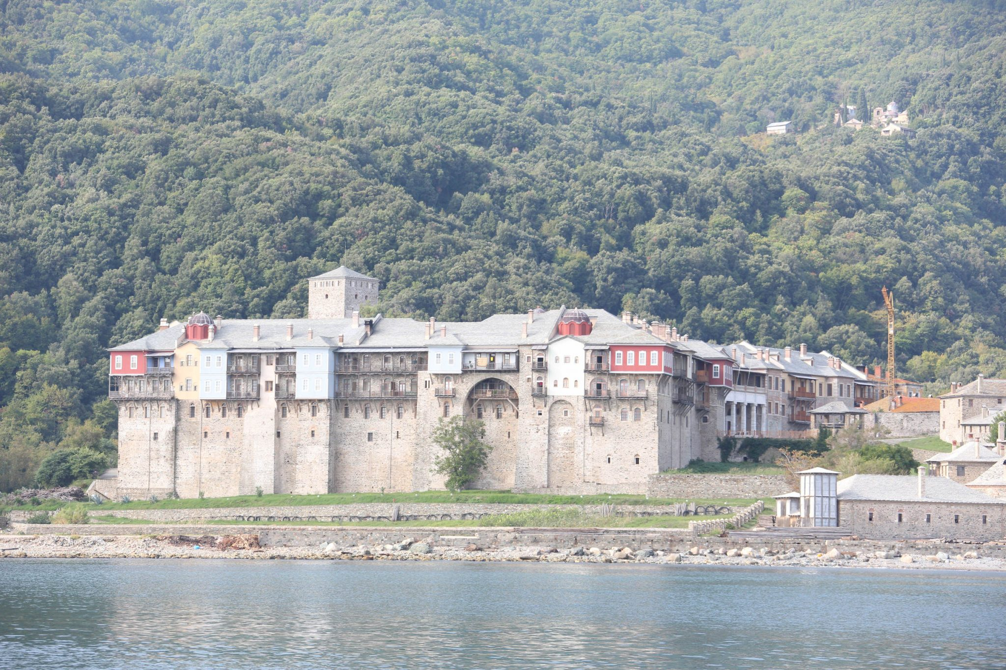 The Holy Monastery of Iviron, Mount Athos