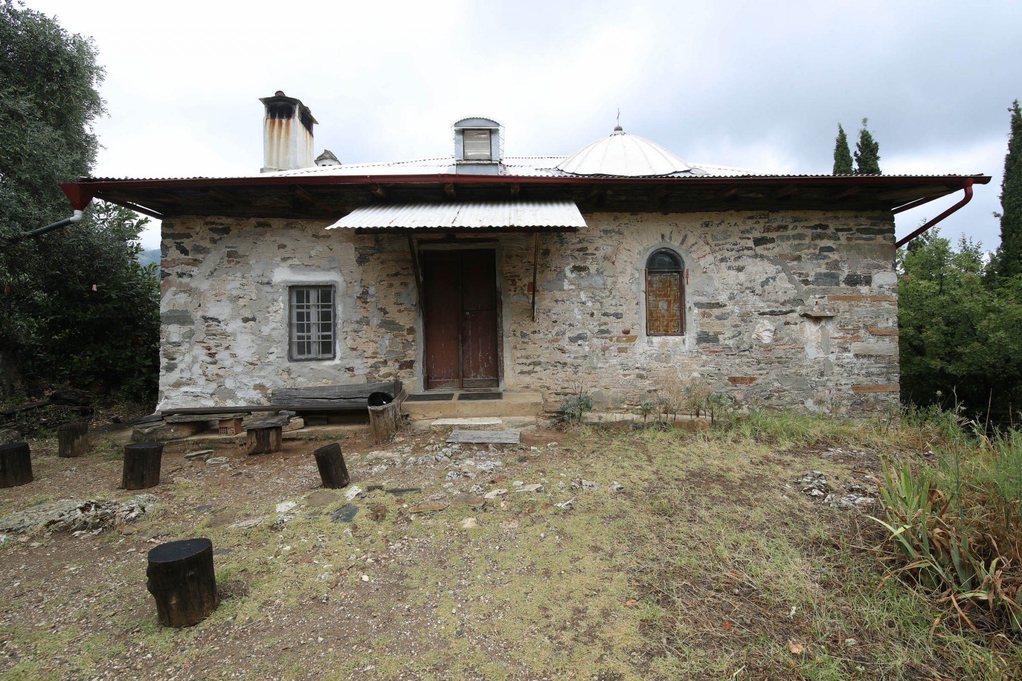 Paisios of Mount Athos' cell - front view