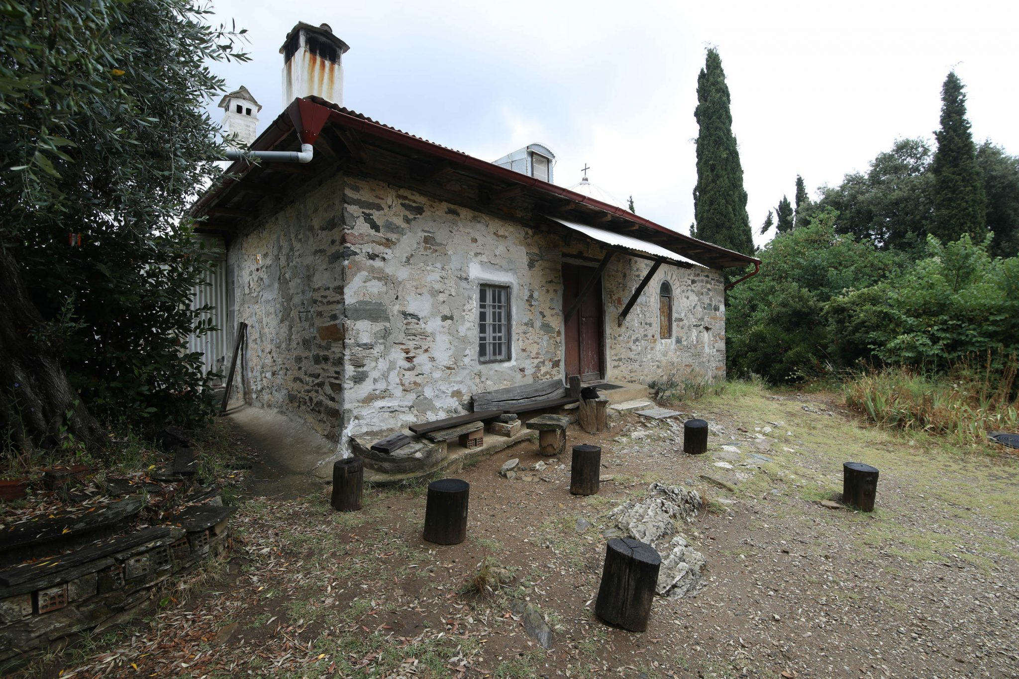 Paisios of Mount Athos' cell - archontariki, front view