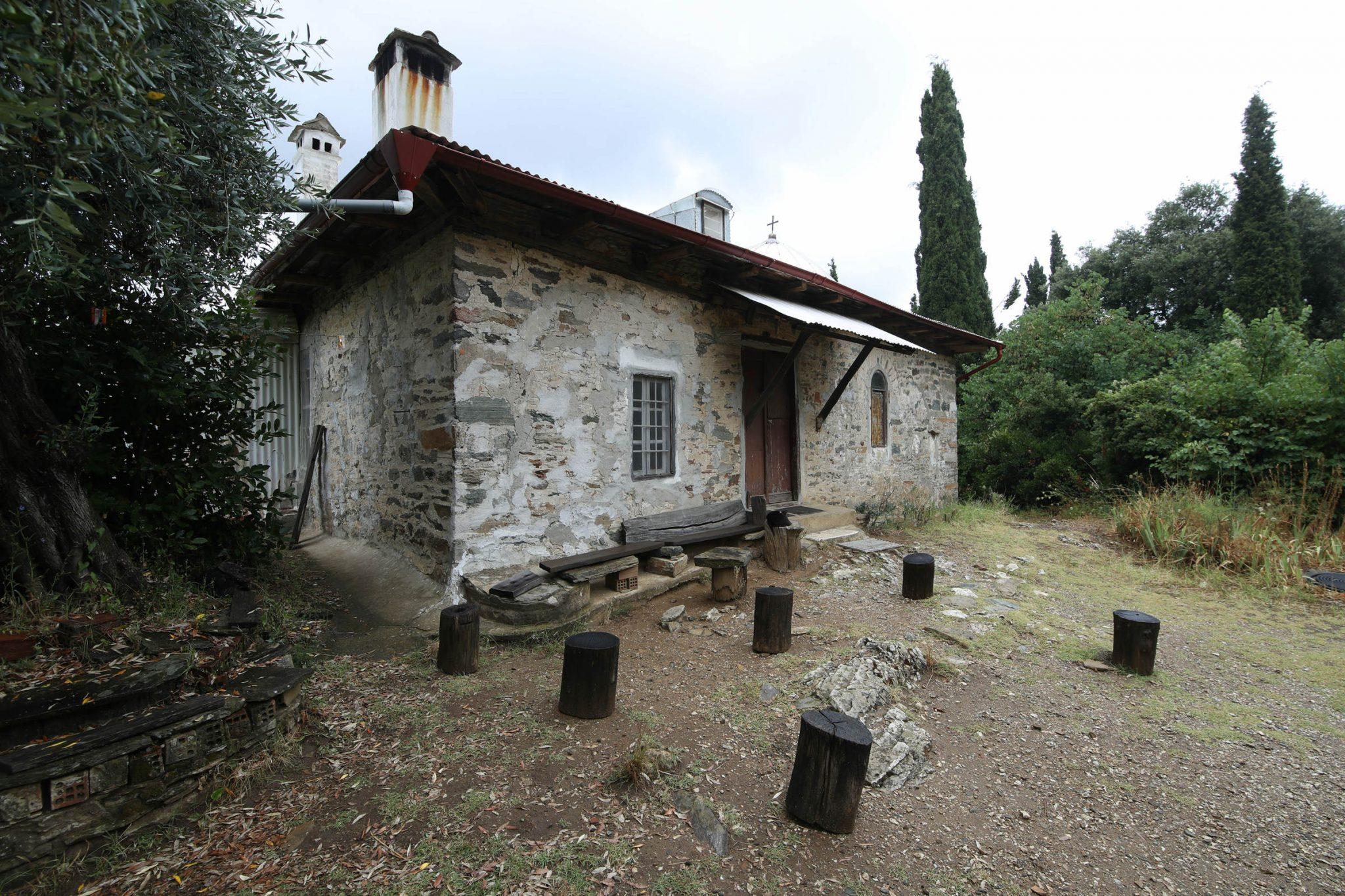 Paisios of Mount Athos' cell - archontariki, front view