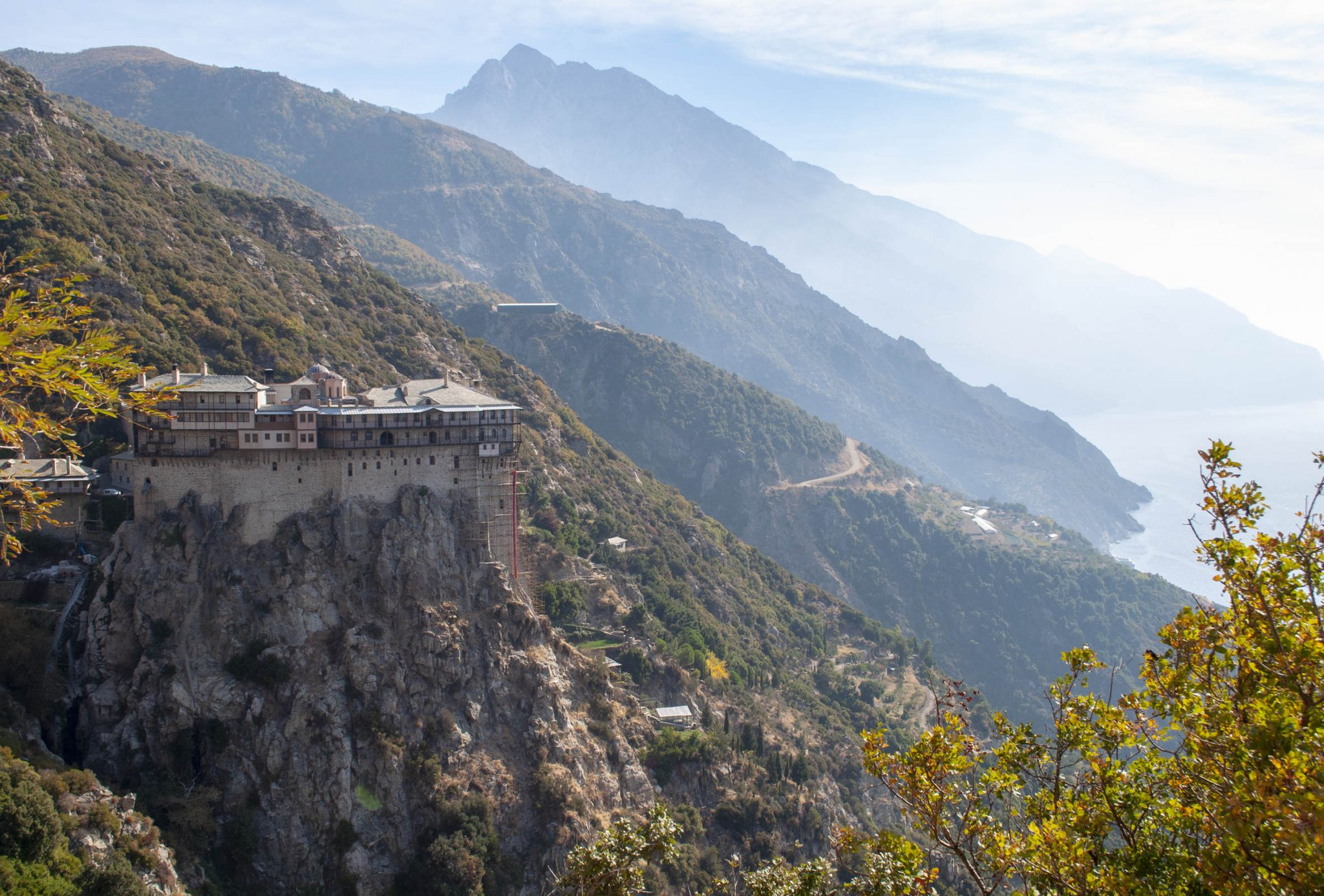 The Holy Monastery of Simonopetra, Mount Athos