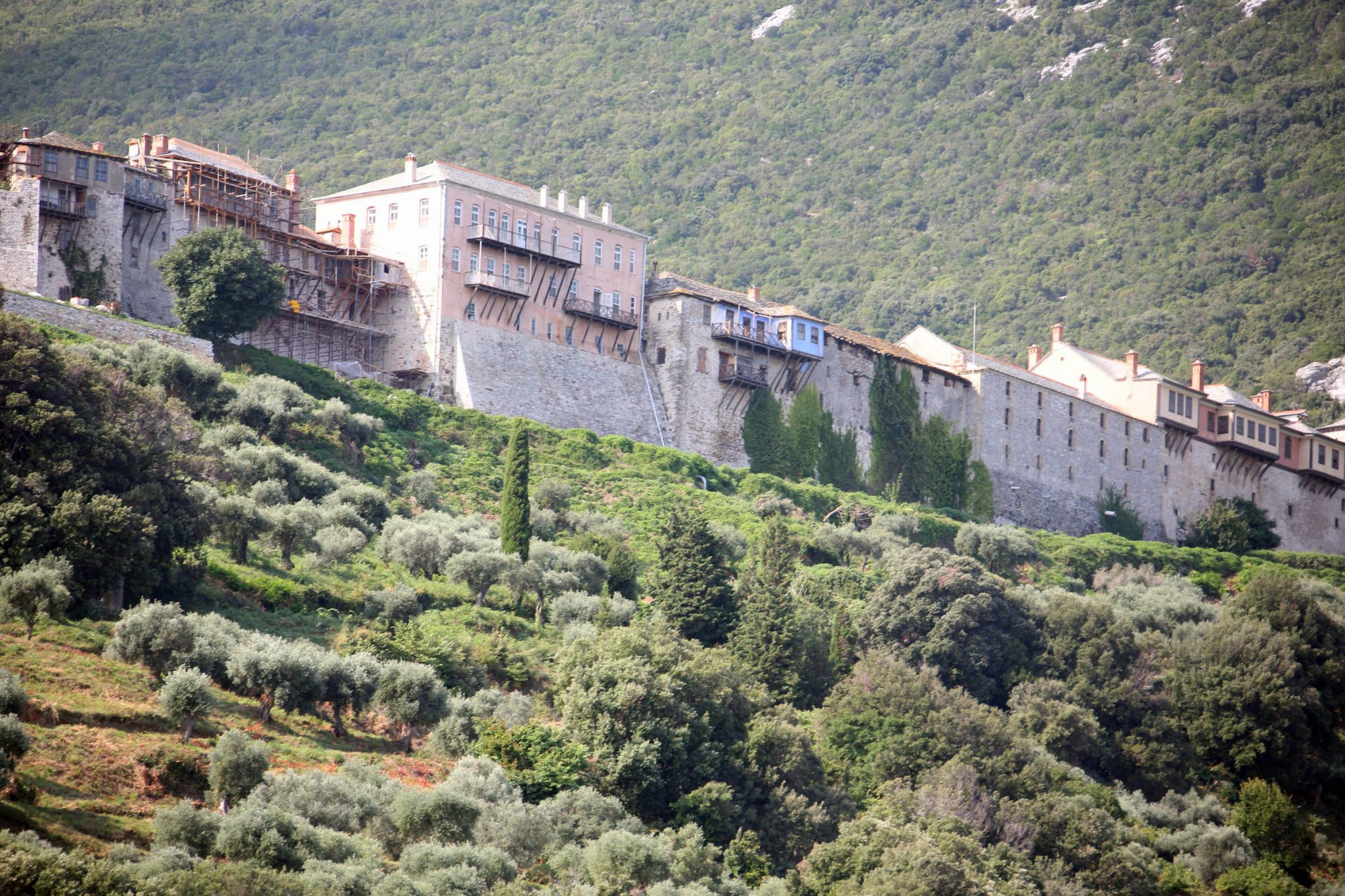 The Holy Monastery of the Great Lavra, Mount Athos