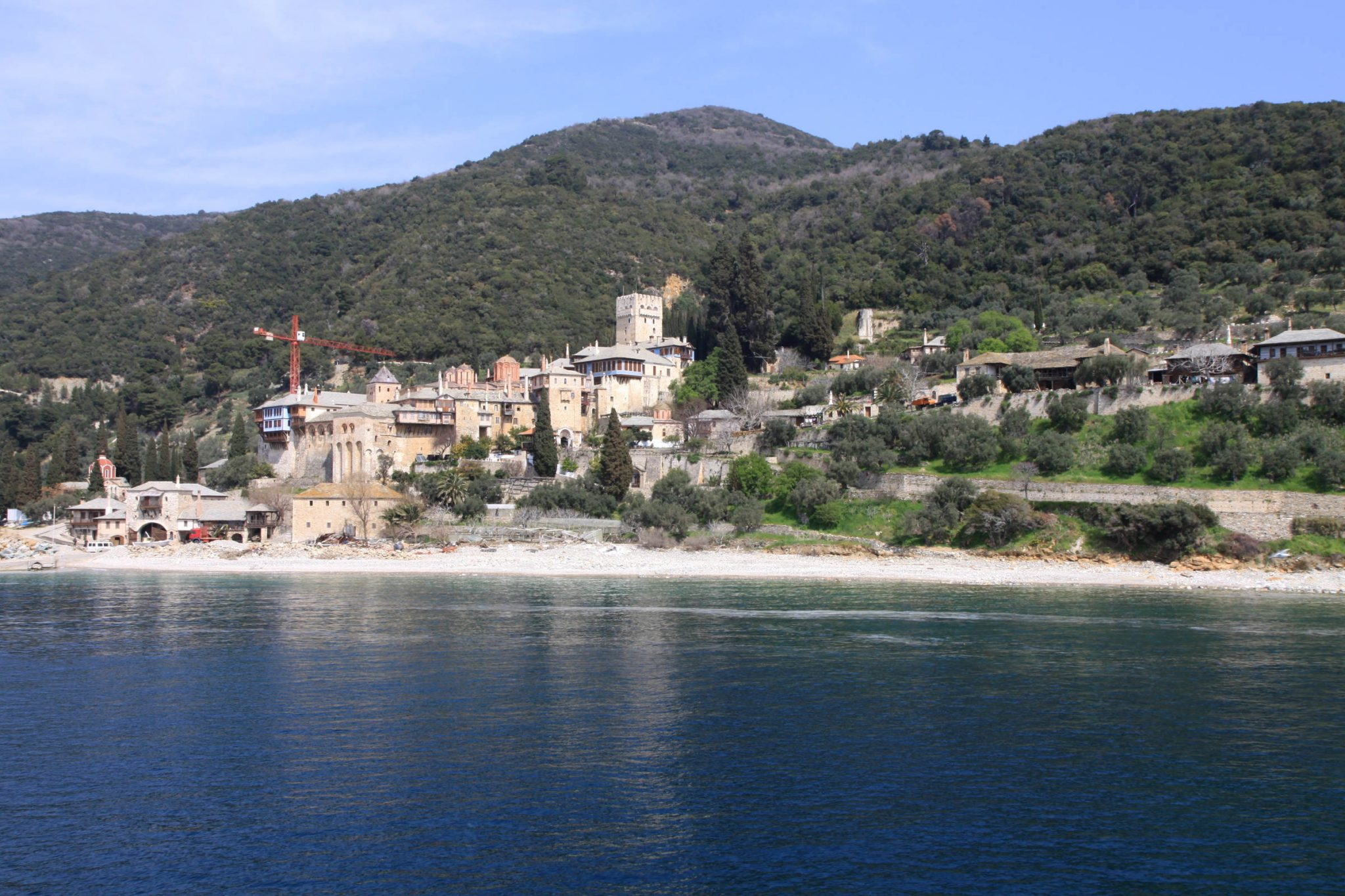 The Holy Monastery of the Dochiariou, Mount Athos