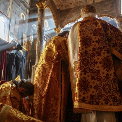The Dormition of the Theotokos - why it is called this way? - Photo Journal with Metr. Alexios of Atlanta