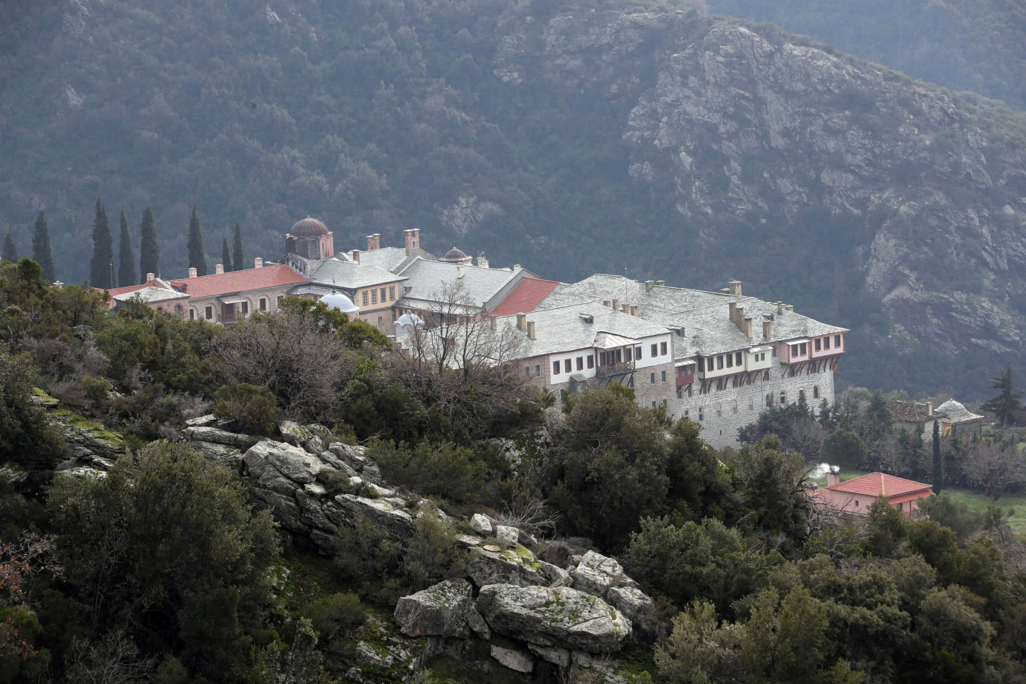 The Holy Monastery of Xeropotamou, Mount Athos