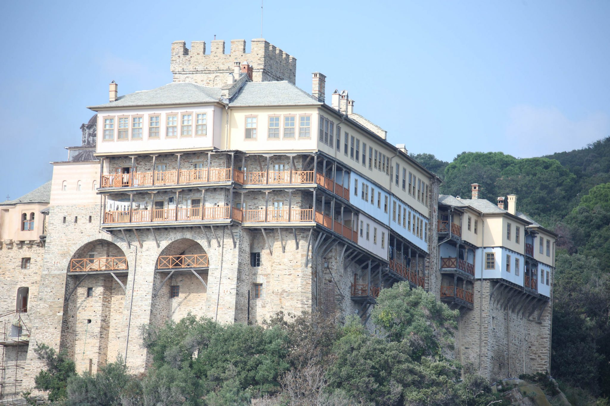 The Holy Monastery of Stavronikita, Mount Athos