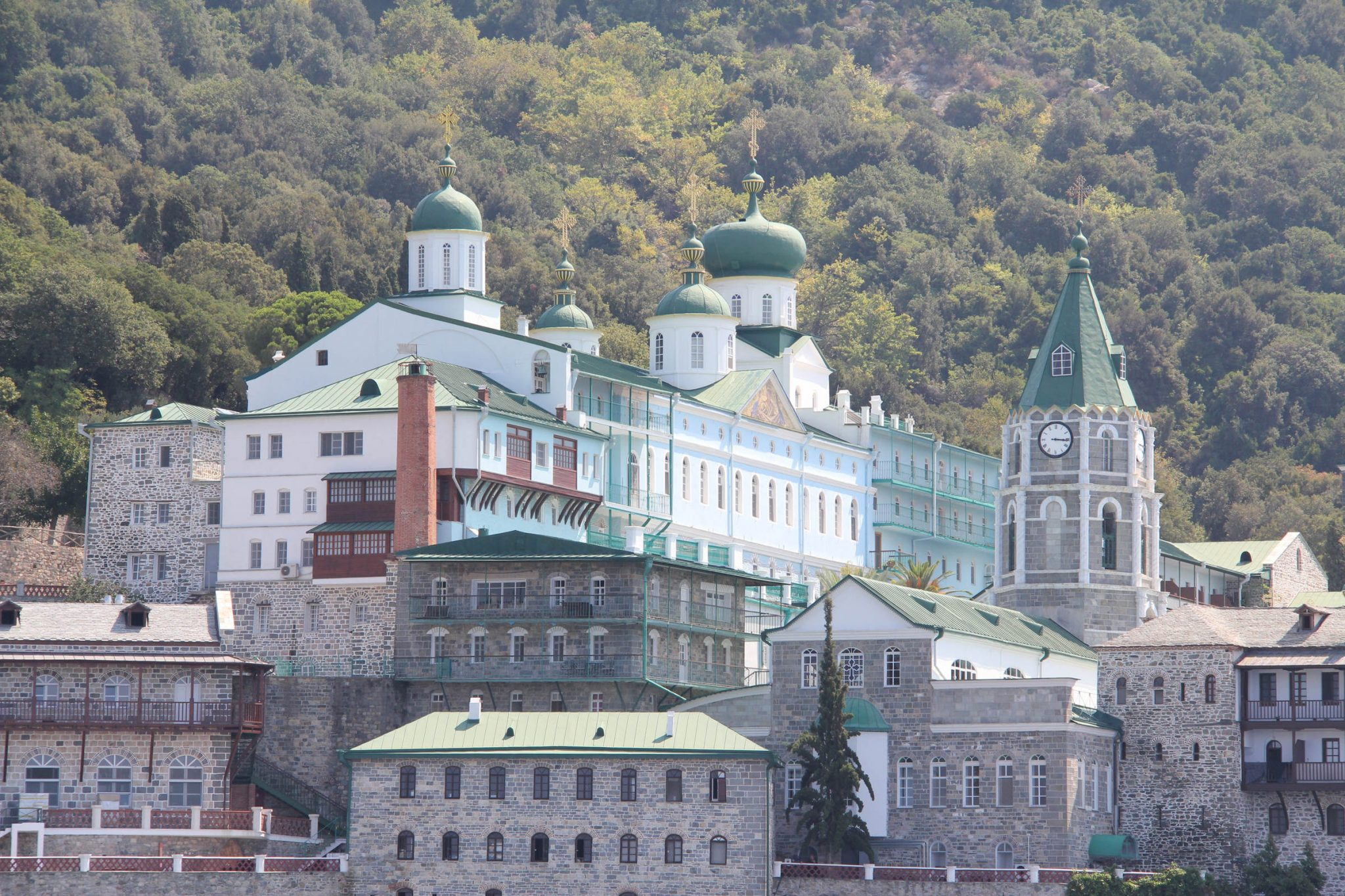 The Holy Monastery of Saint Panteleimon (Rossikon), Mount Athos