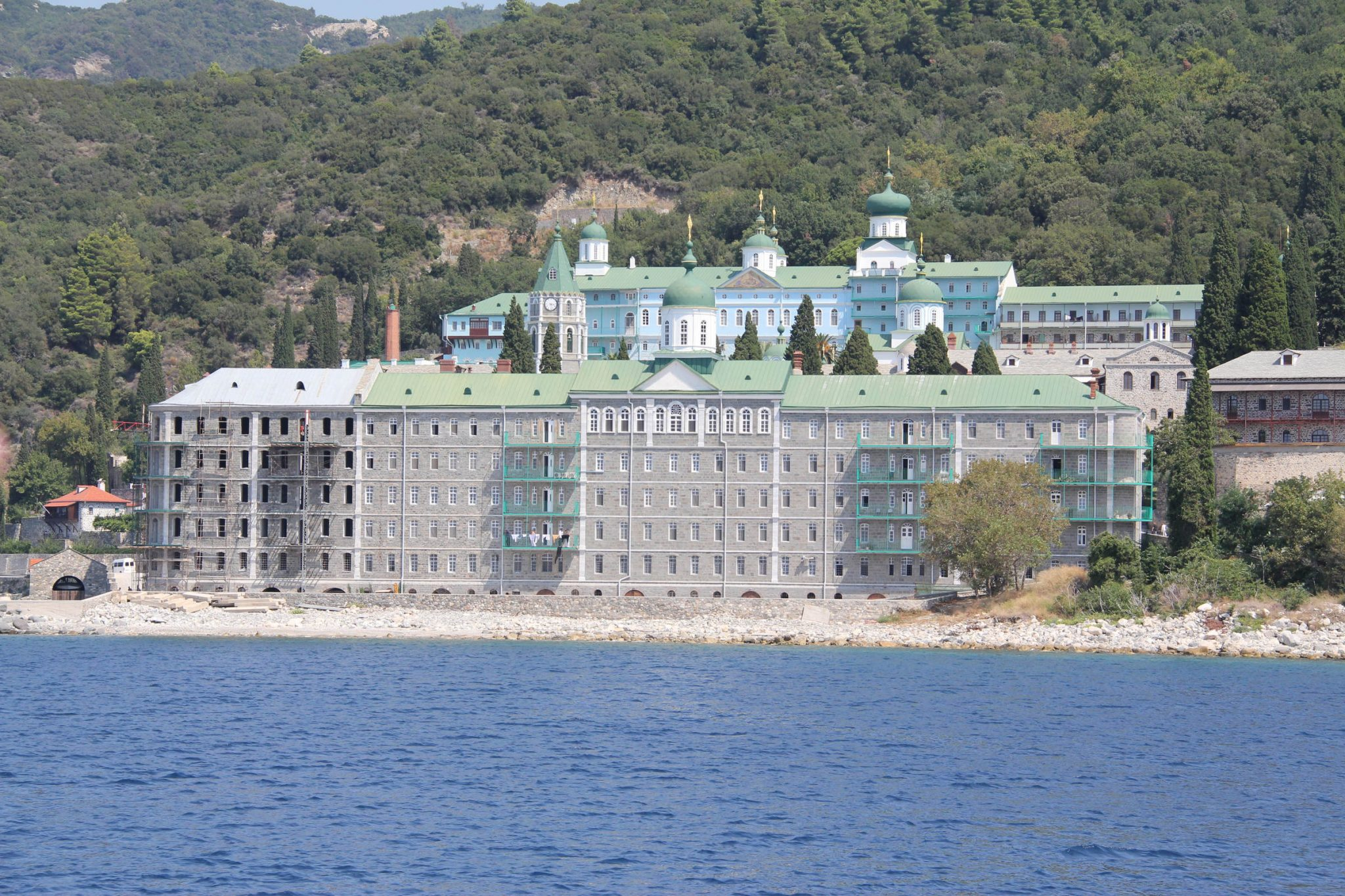 The Holy Monastery of Saint Panteleimon (Rossikon), Mount Athos
