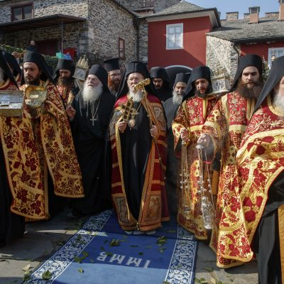 The official visit of the Ecumenical Patriarch, His All-Holiness Bartholomew II, at Vatopedi