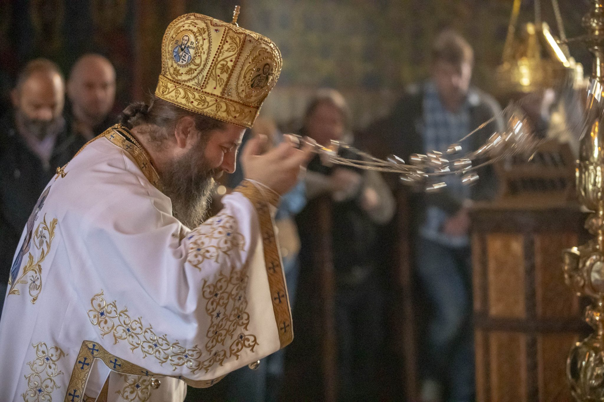 How to use loneliness - a photo journal from a Divine Liturgy