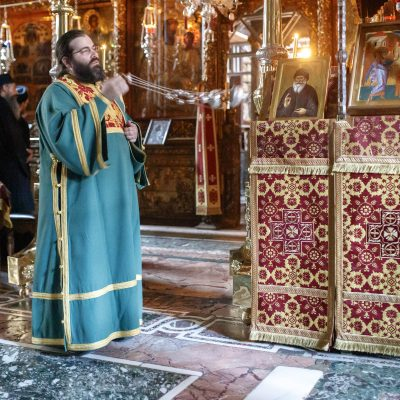 Saint Porphyrios: he just needed a taxi