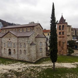 The church of Protaton, Karyes, Mount Athos