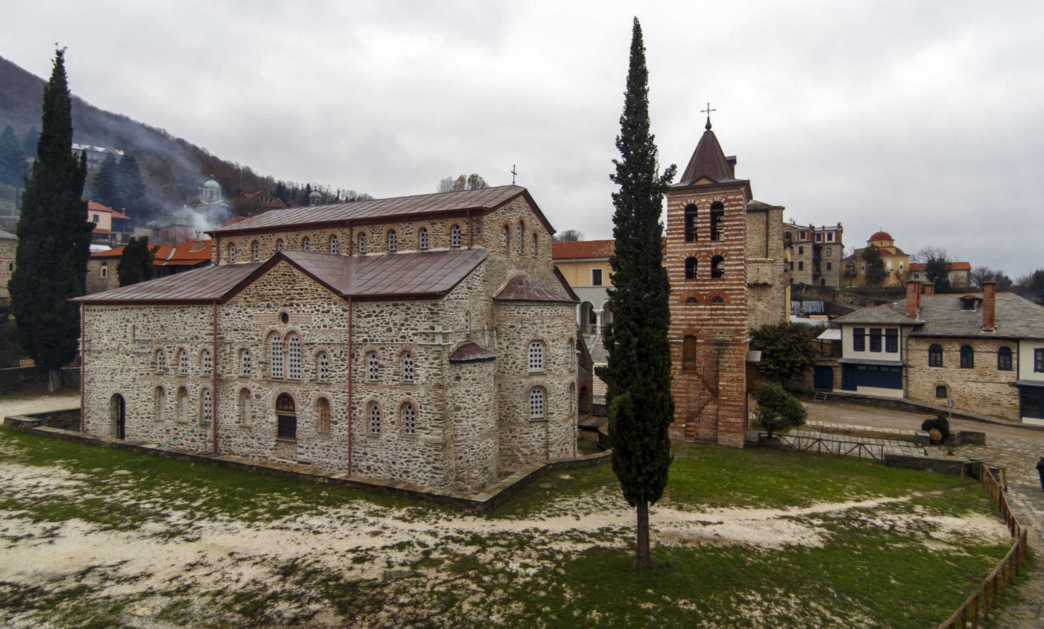 The church of Protaton, Mount Athos