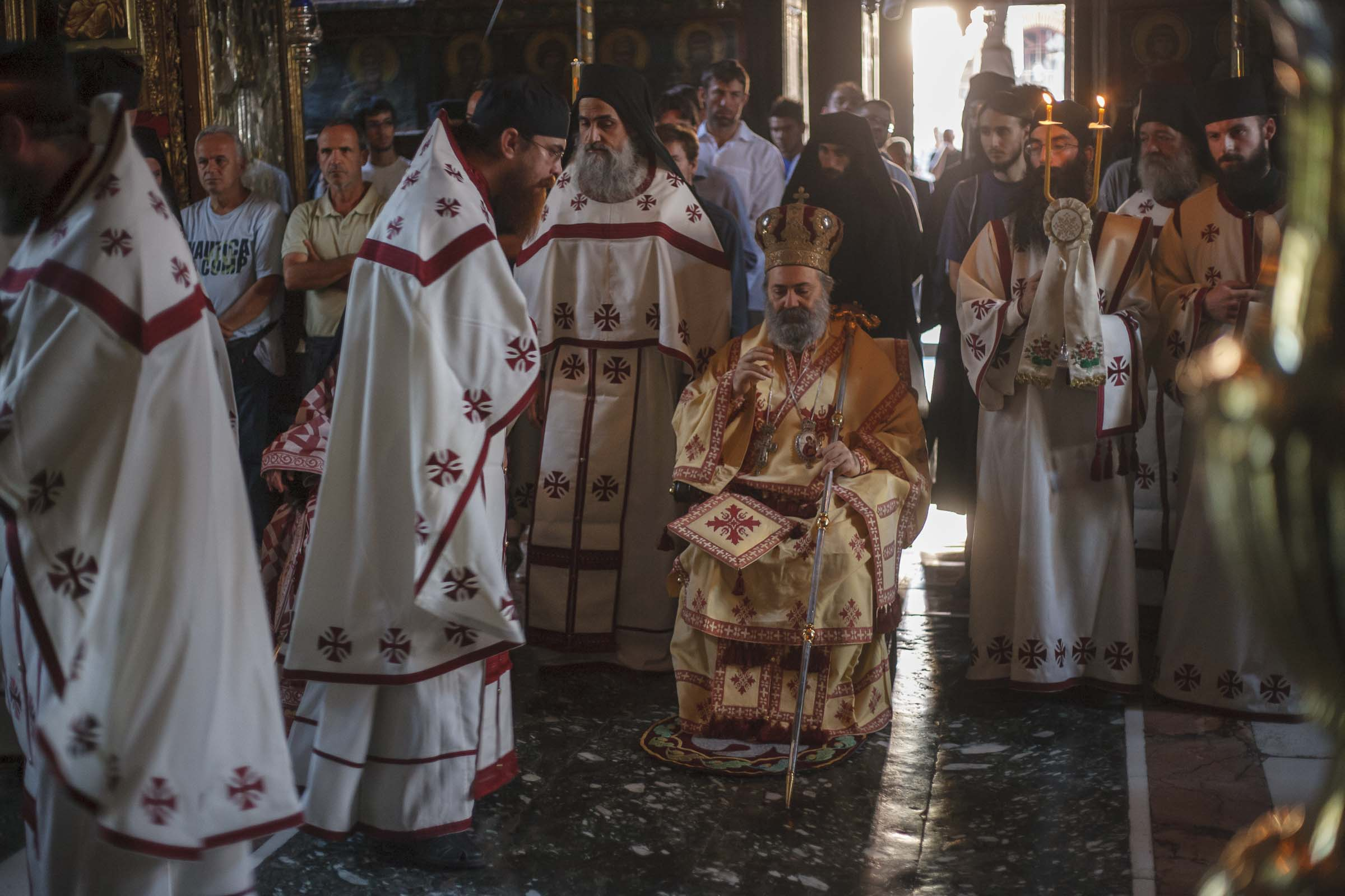 The last words of Paul  (Yazigi) of Aleppo in Mount Athos - photo journal from his last Divine Liturgy