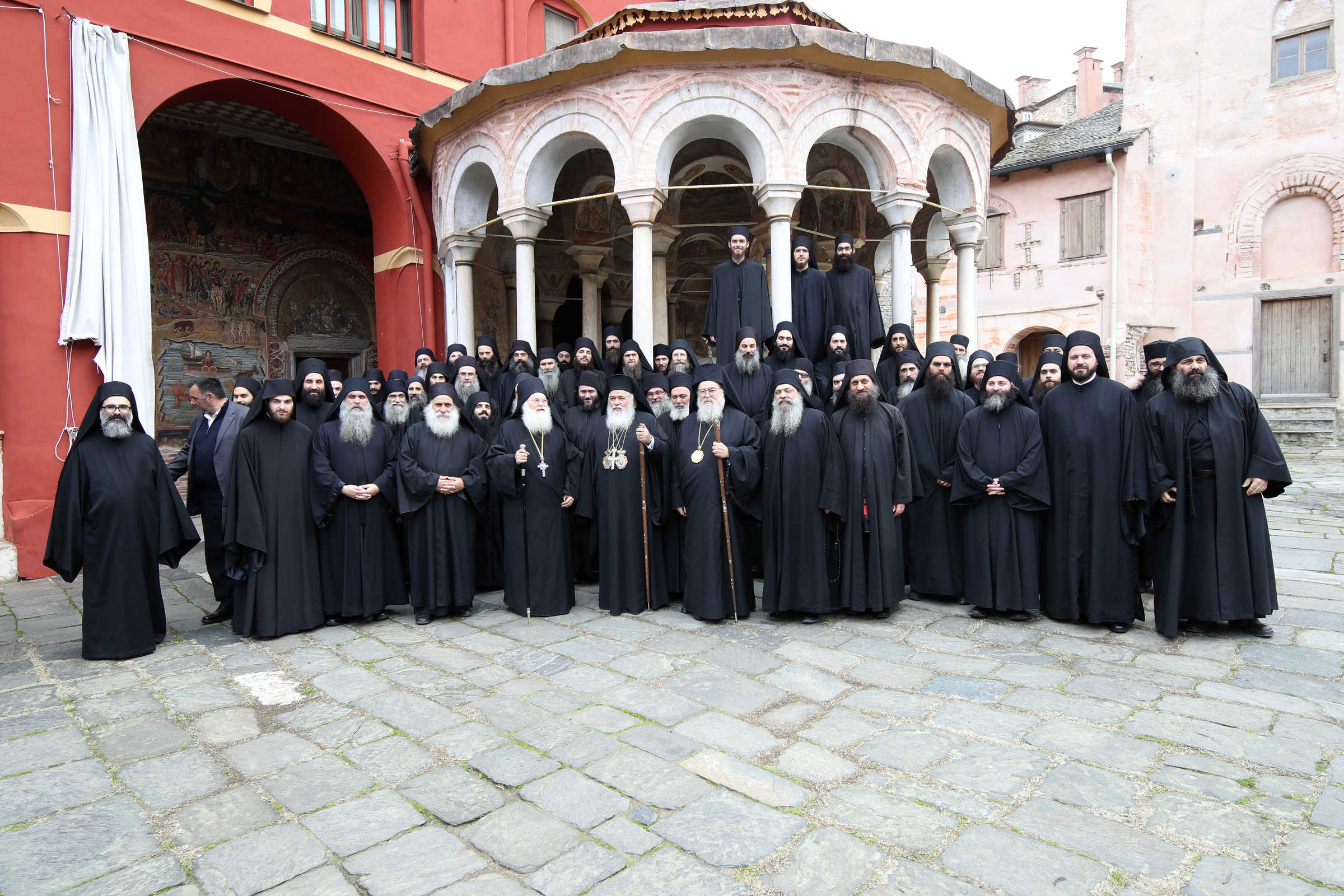 Distinguishing the work of grace and the work of deception - (C) Vatopedi monastery, Mount Athos
