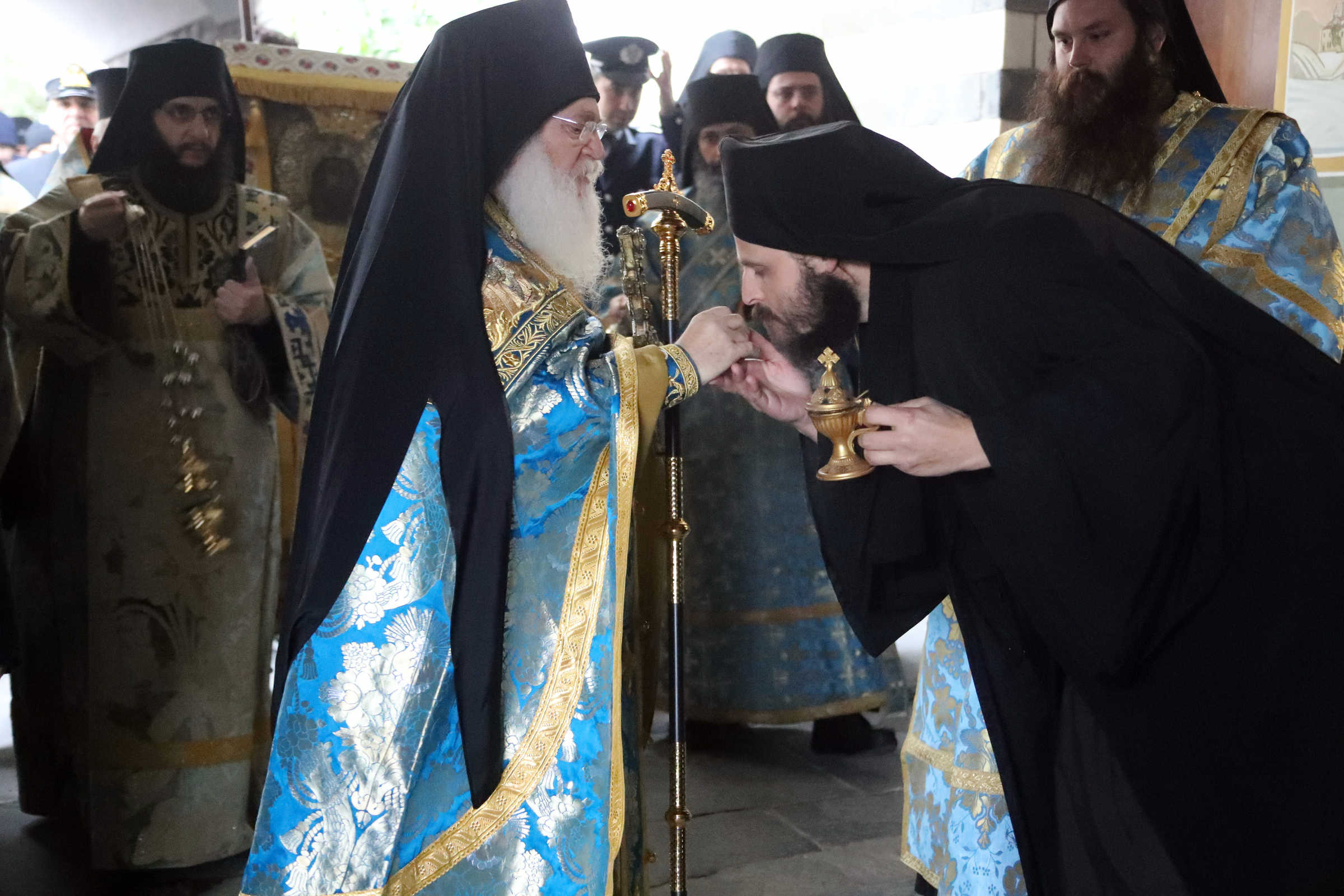 The multiple meanings of the baptism of Saint John – (C) Vatopedi monastery, Mount Athos