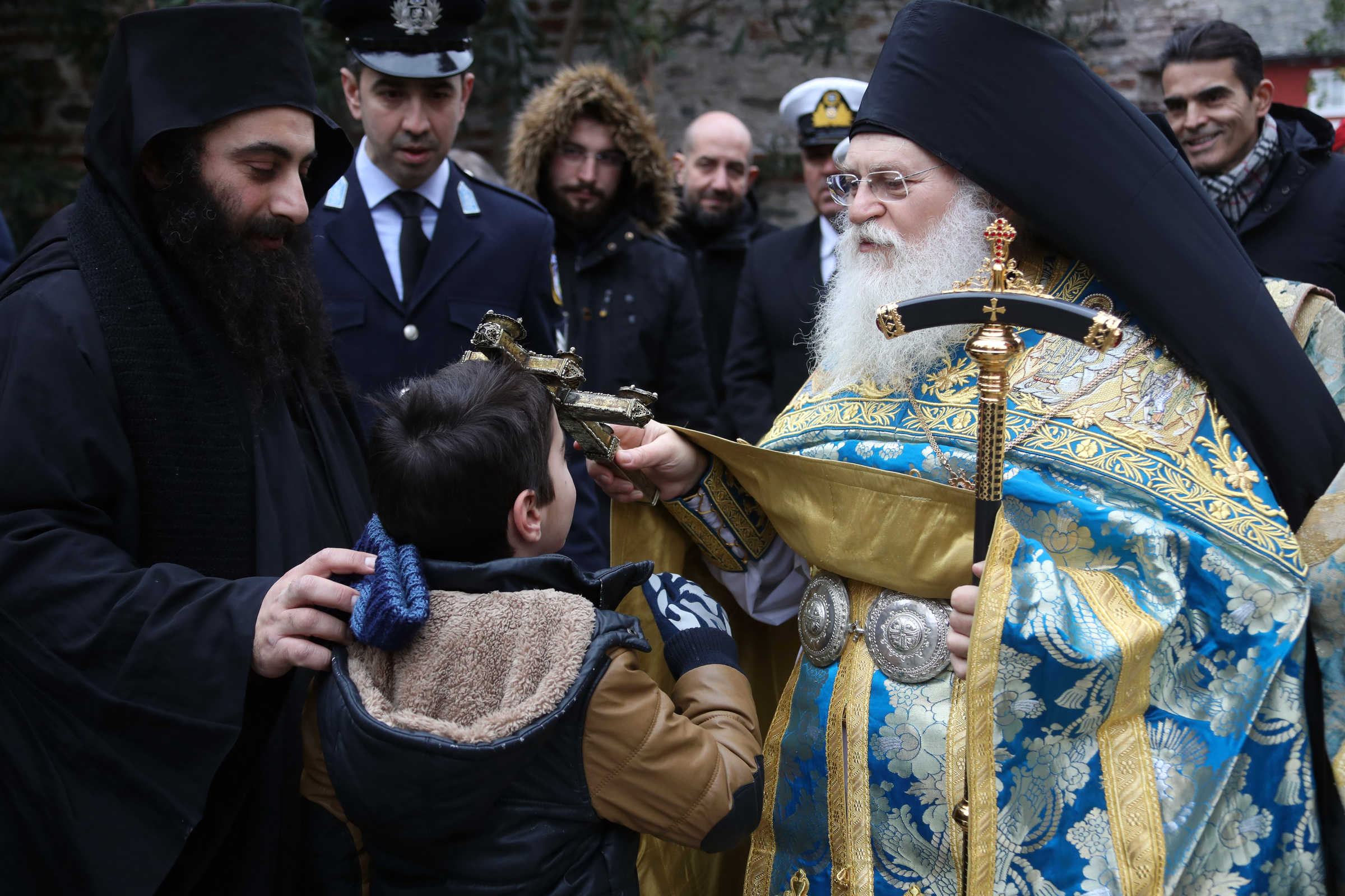 The multiple meanings of the baptism of Saint John - (C) Vatopedi monastery, Mount Athos