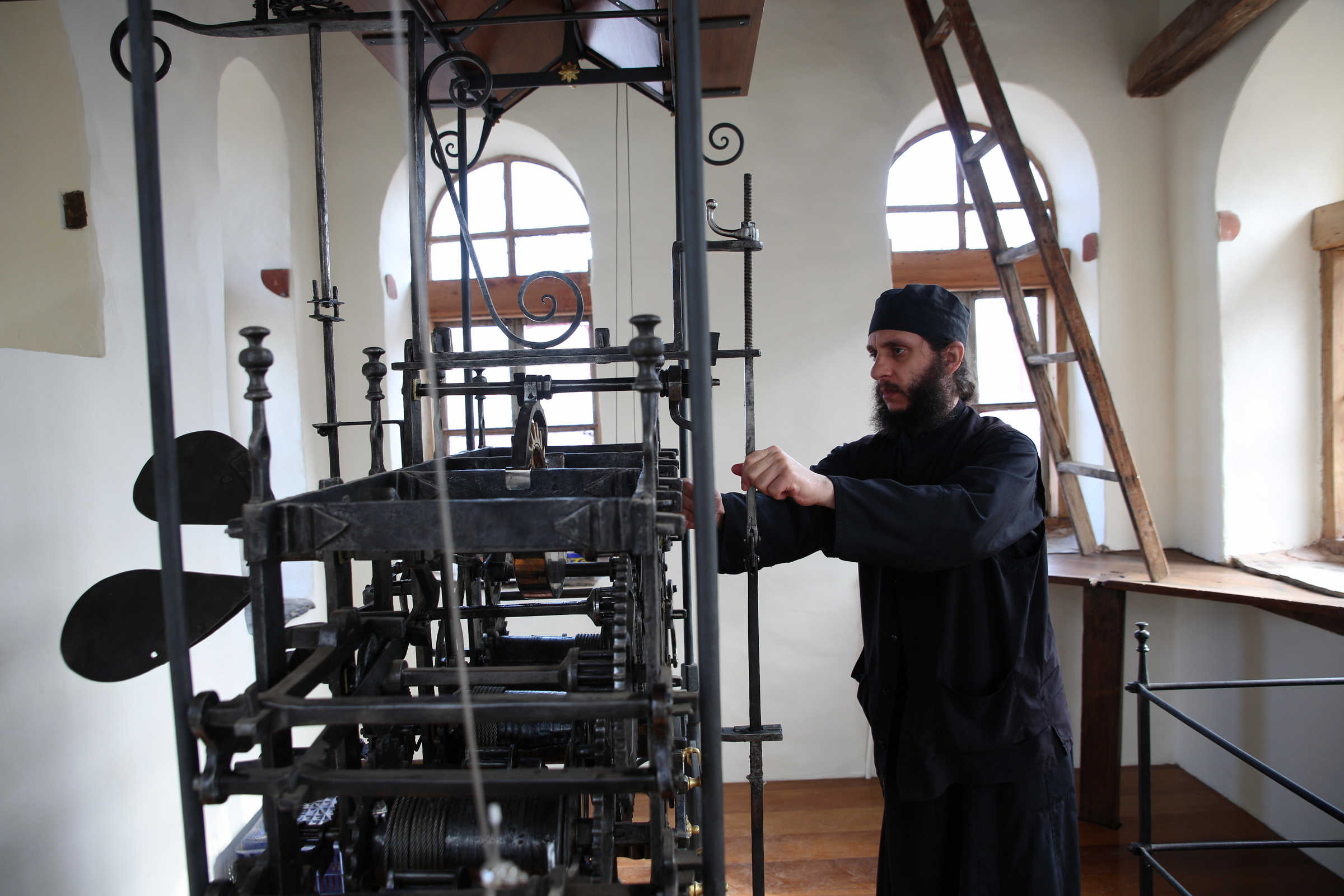 (C) Vatopedi monastery, Mount Athos - The Meaning of Time