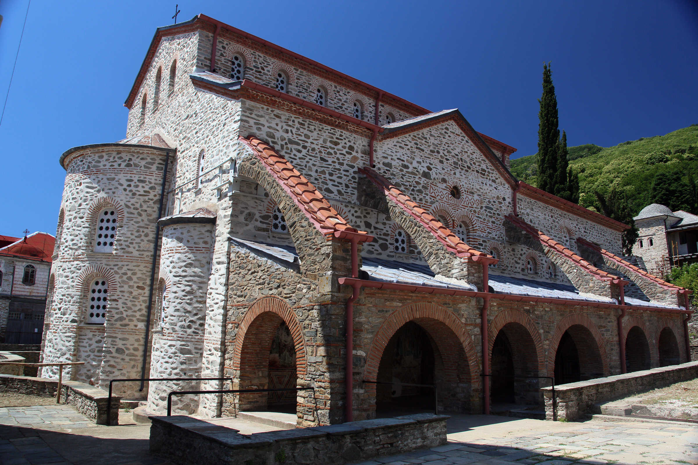 The church of Protaton, Karyes, Mount Athos - (C) Vatopedi monastery, Mount Athos