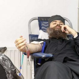 What is asceticism - photo journal from a blood donation