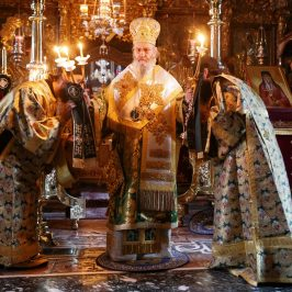 The orthodox bishop