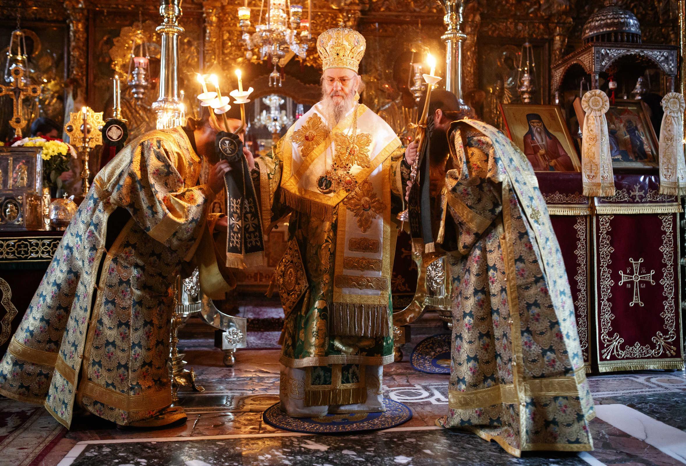 The orthodox bishop