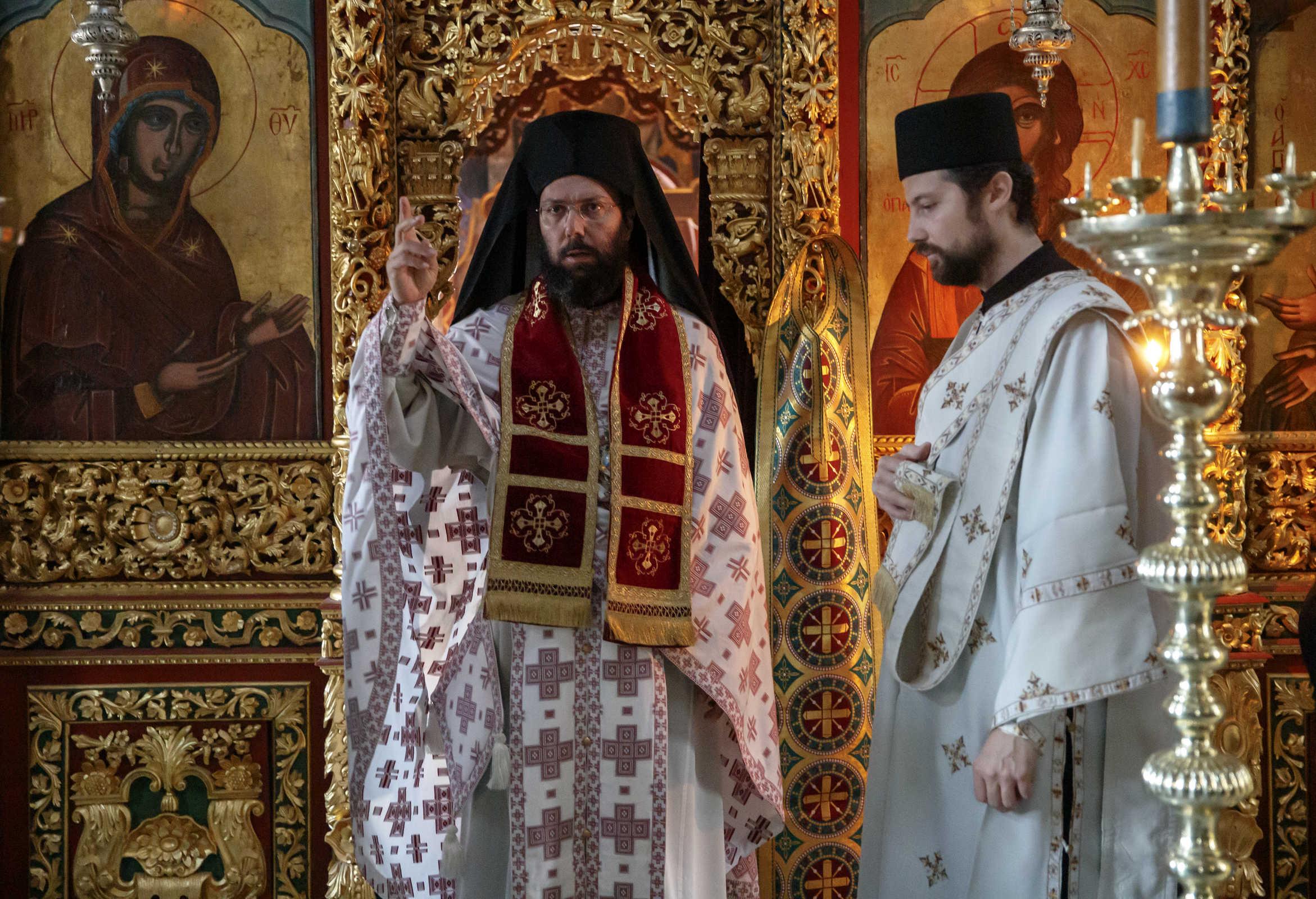 The orthodox bishop - (C) Vatopedi monastery, Mount Athos