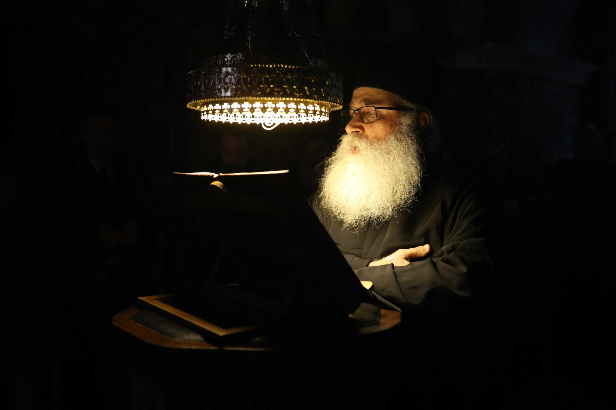 The Orthodox Priest - (C) Vatopedi monastery, Mount Athos