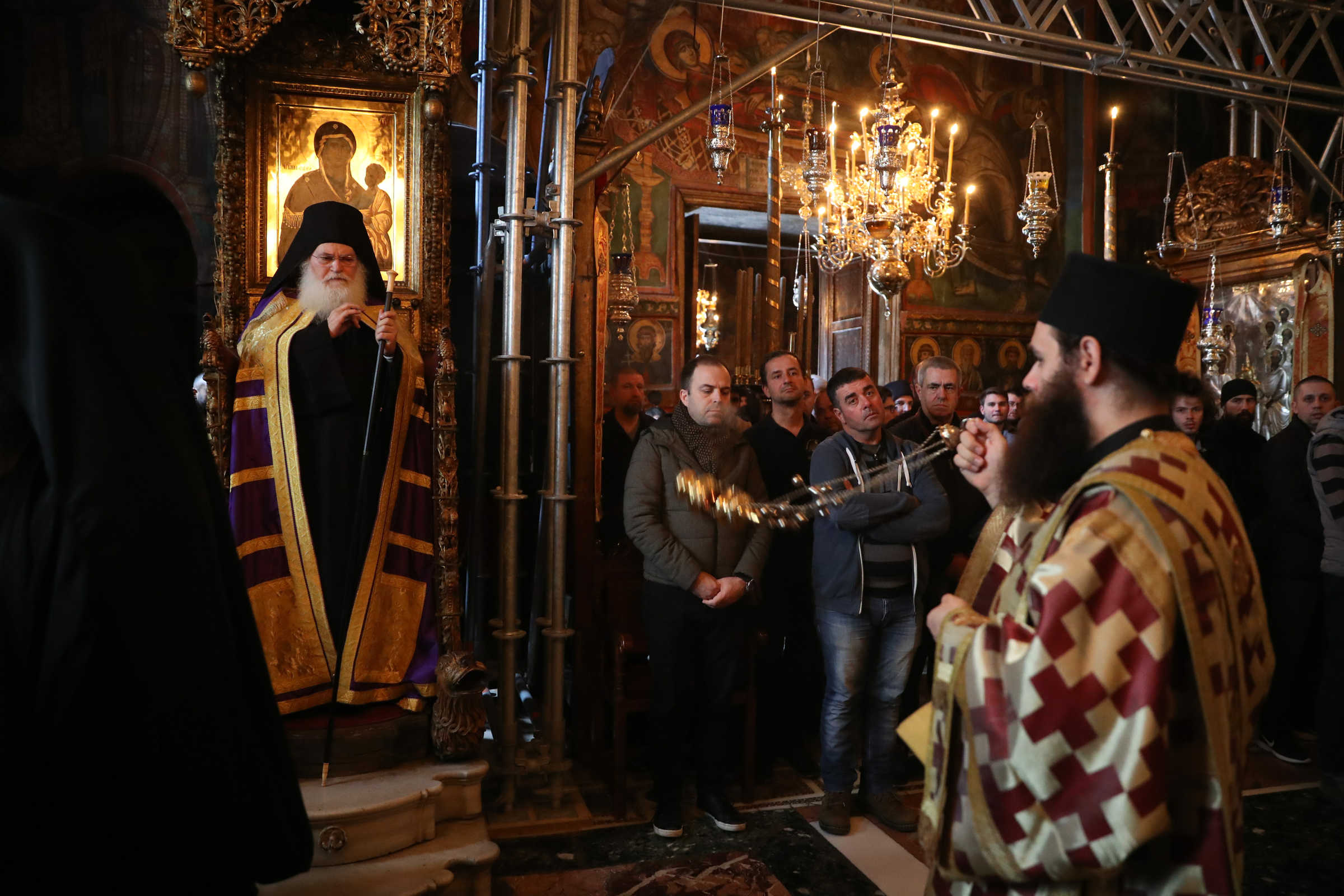 The fountain of tears is greater than baptism itself - (c) Vatopedi monastery, Mount Athos