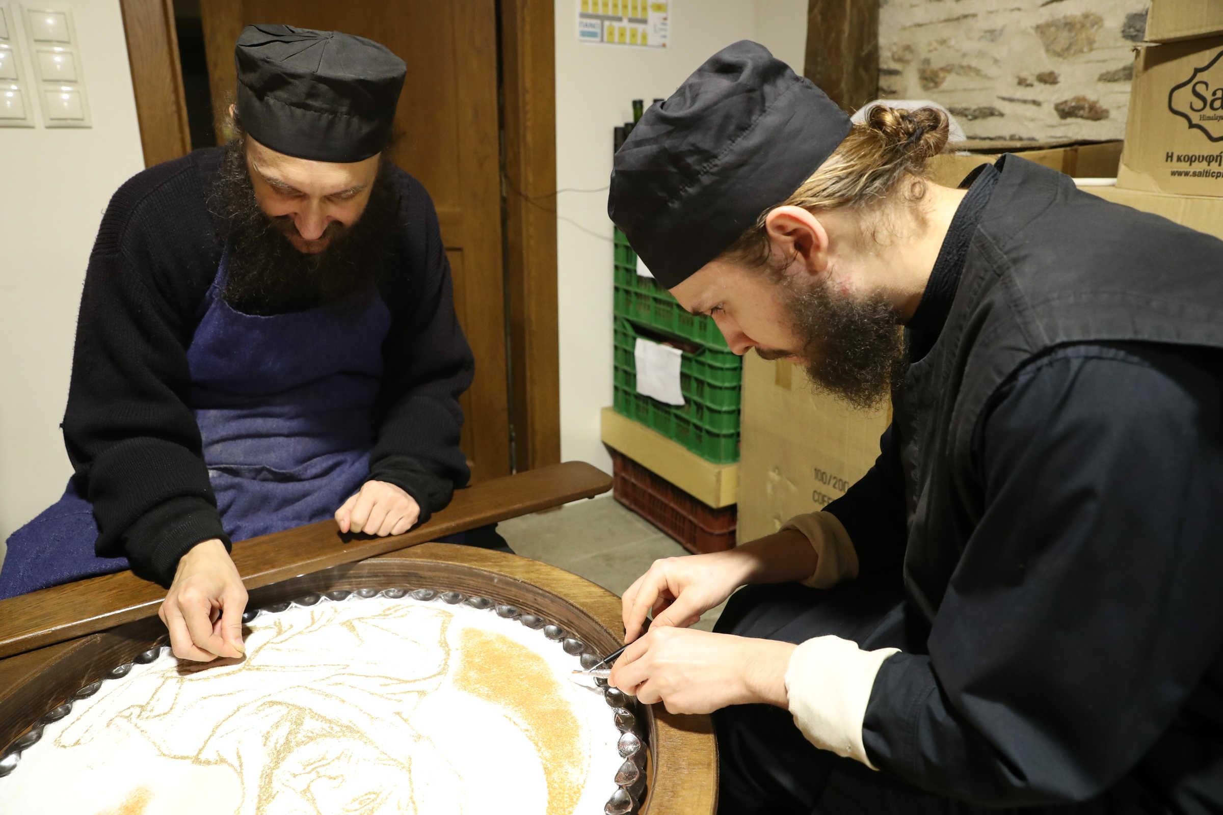 Koliva: definition  and the miracle of Saint Theodor Tyron - (c) Vatopedi monastery, Mount Athos