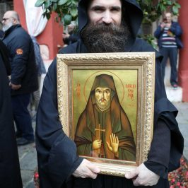 Saint Nikephoros the Leper appears in Bulgaria and gives the cure for Coronavirus