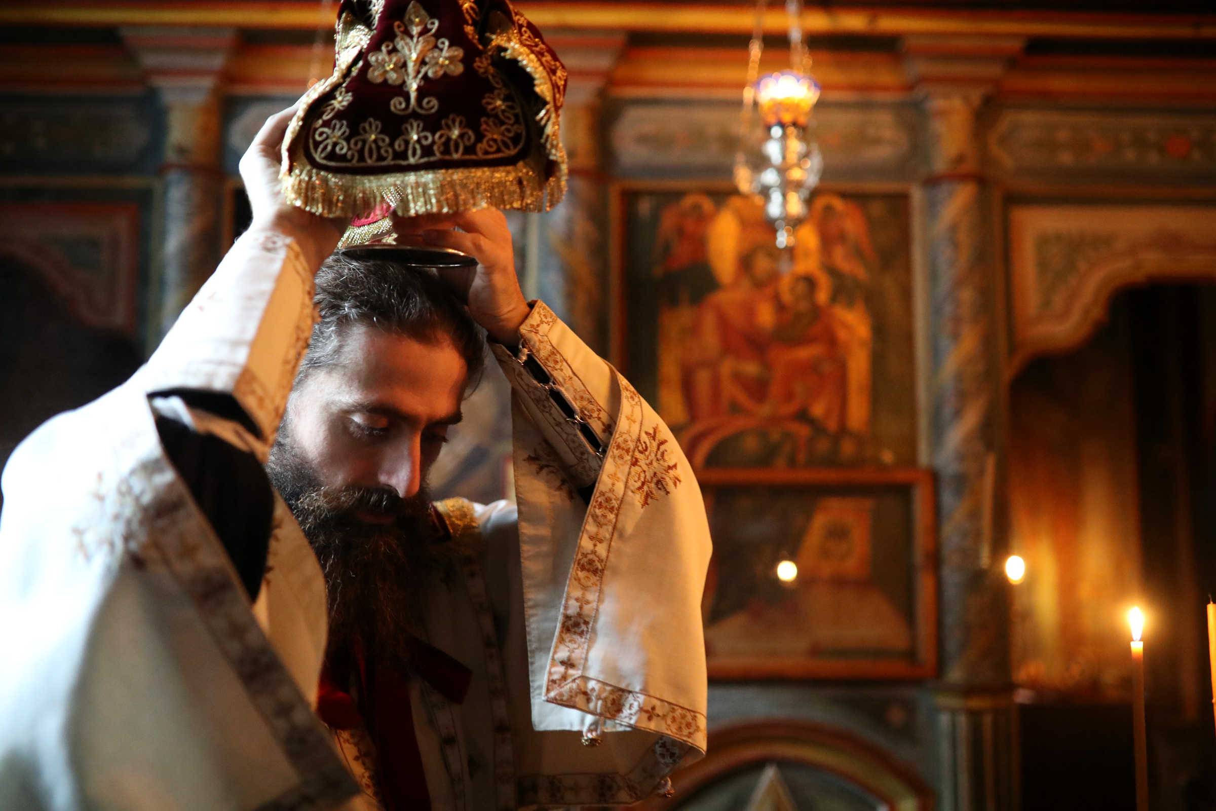 The Holy Communion does not make people sick - photo journal from the Chapel of Holy Unmercenary Healers