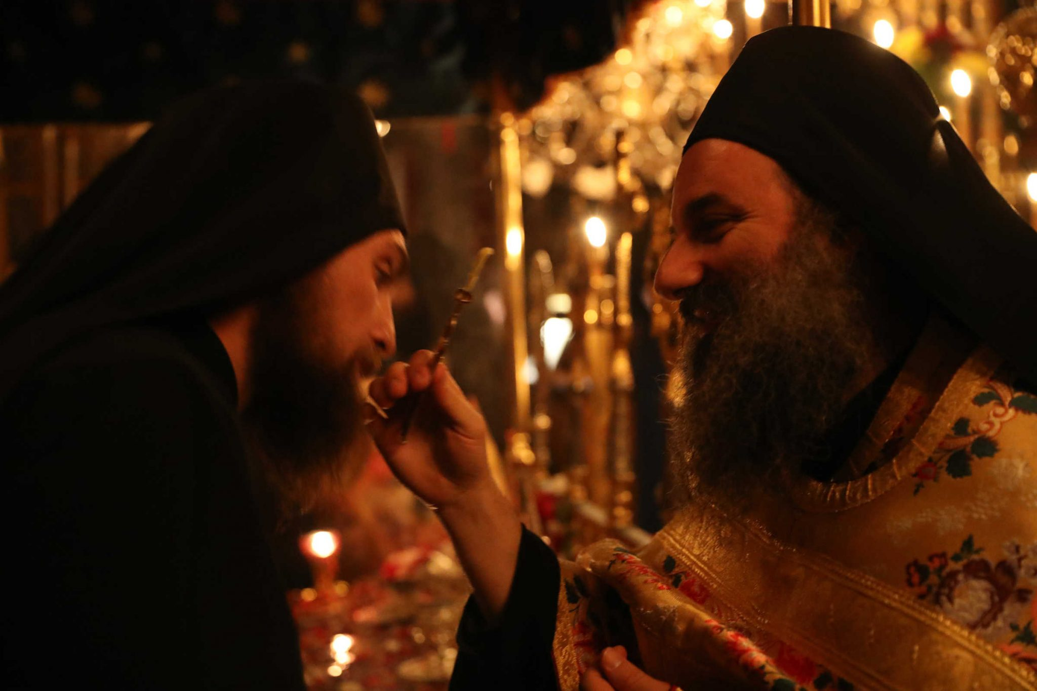 The Gift of Shyness - photo report from Annunciation  (Great Friday)
